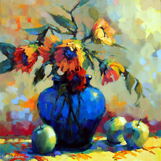 So Sunny by Trisha Adams Oil ~ 30 x 30